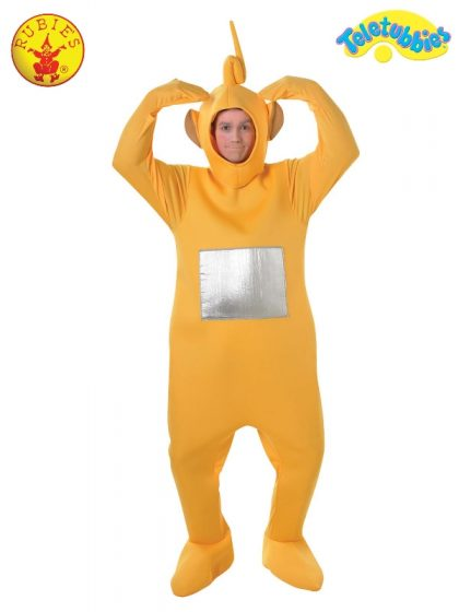 LAA-LAA TELETUBBIES DELUXE COSTUME, ADULT