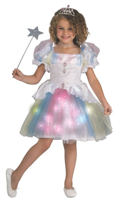Light-Up Kids Rainbow Ballerina Costume