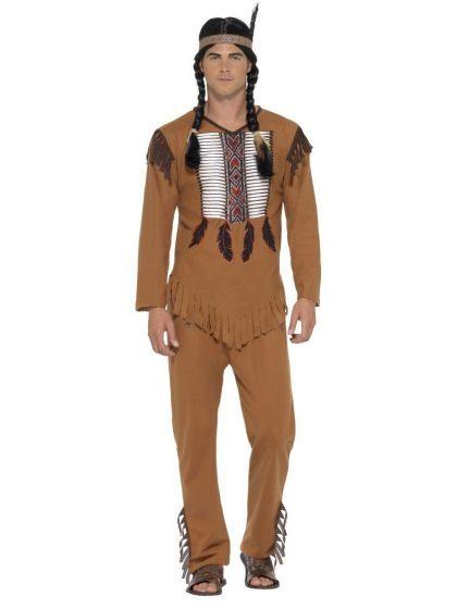 Native Western Warrior Costume