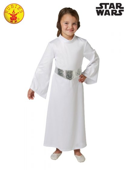 PRINCESS LEIA DELUXE COSTUME, CHILD