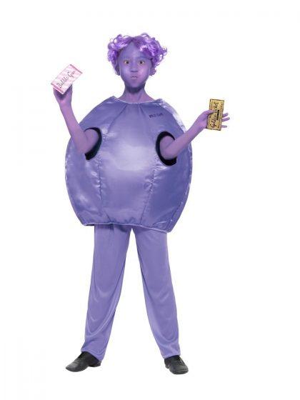 Roald Dahl Violet Beauregarde Costume