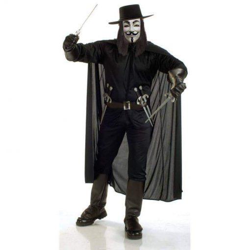 Rubies Costume Co Men's V For Vendetta Costume