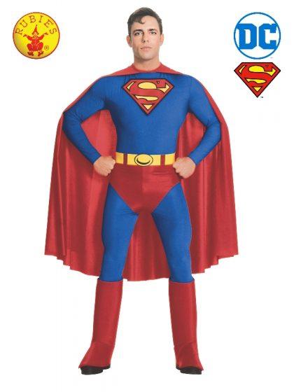SUPERMAN COSTUME, ADULT