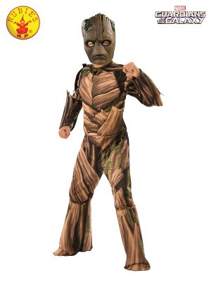 TEEN GROOT DELUXE COSTUME, CHILD