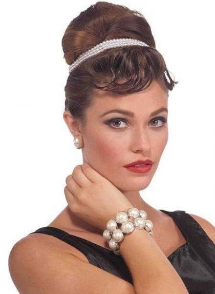 Vintage Hollywood Pearl Bracelet