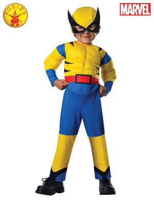 WOLVERINE DELUXE COSTUME, TODDLER