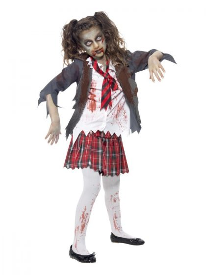 Zombie-School-Girl-Child-Costume