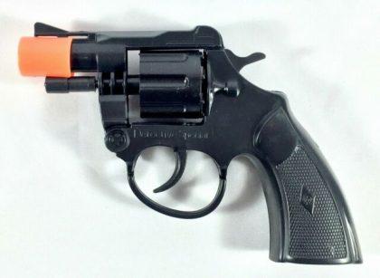 Super cap gun revolver