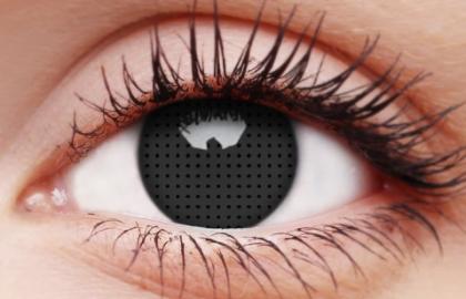 Crazy Lens Contacts - Black Screen