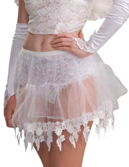 ANGEL CRINOLINE With LACE forum novelties