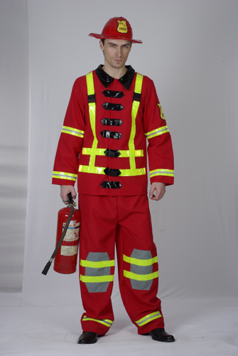 Adult Costume - Fireman