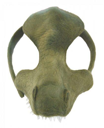 Animal Half Mask - Good Green Dinosaur