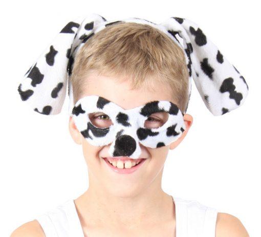 Animal Headband & Mask Set - Dalmatian