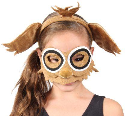 Animal Headband & Mask Set - Owl