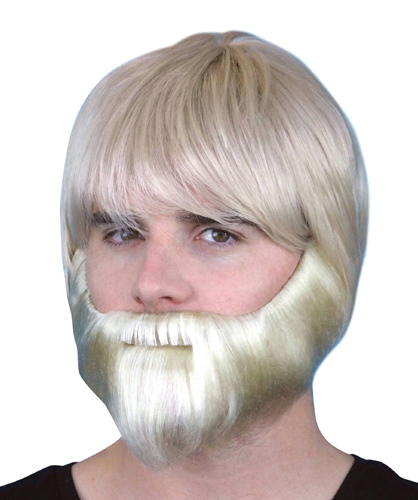Beard - Blonde Synthetic with Elastic