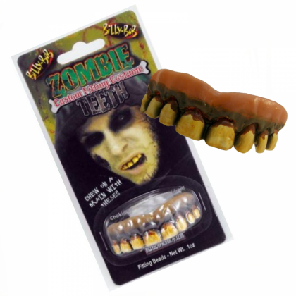 Billy Bob Costume Teeth - Zombie