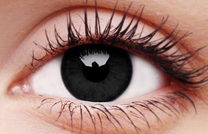 Blackout Coloured Contact Lenses