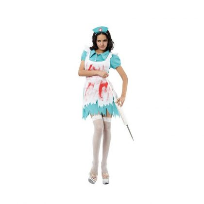 Blood Splattered Nurse -Adult -Medium