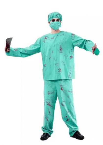 Blood Splattered Surgeon - Adult - Lge