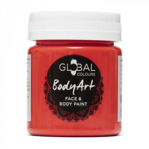 Brilliant Red - 45ml Face & Body Paint Liquid