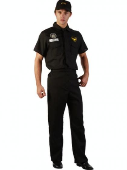 CSI Cop-Costume Adult