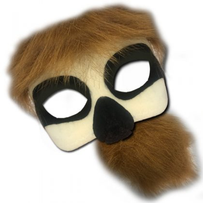 Deluxe Animal Mask Tail Set - Sloth
