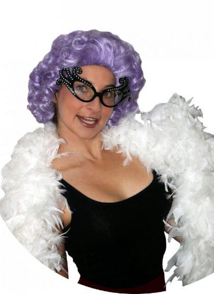 Deluxe Dame Edna Wig