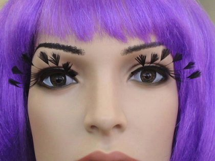 Eyelash - Feather Tips Black