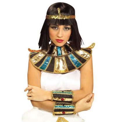 Forum Novelties Egyptian Cleopatra Collar Halloween Costume Accessory