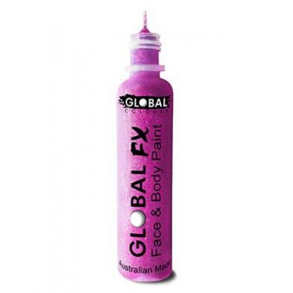 GLOBAL FX GLITTER GEL – PURPLE 36ML