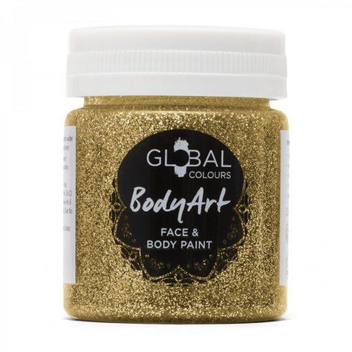 Gold Glitter - 45ml Face & Body Gel