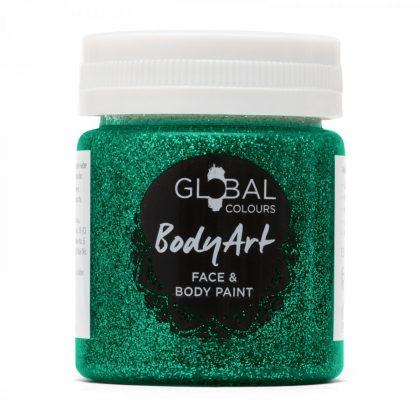 Green Glitter - 45ml Face & Body Gel