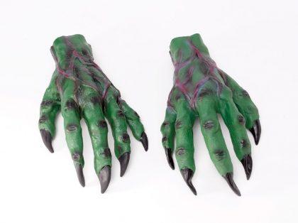 Horror Green Goblin Hands