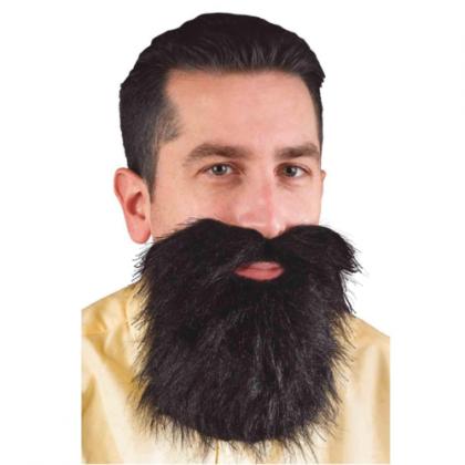 Beard & Mustache - Black
