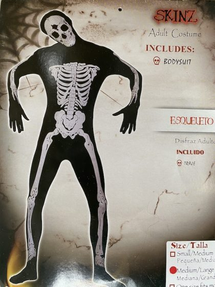 Skeleton Skinz costume
