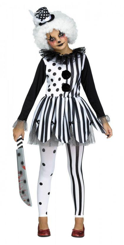 Killer Clown Costume Child