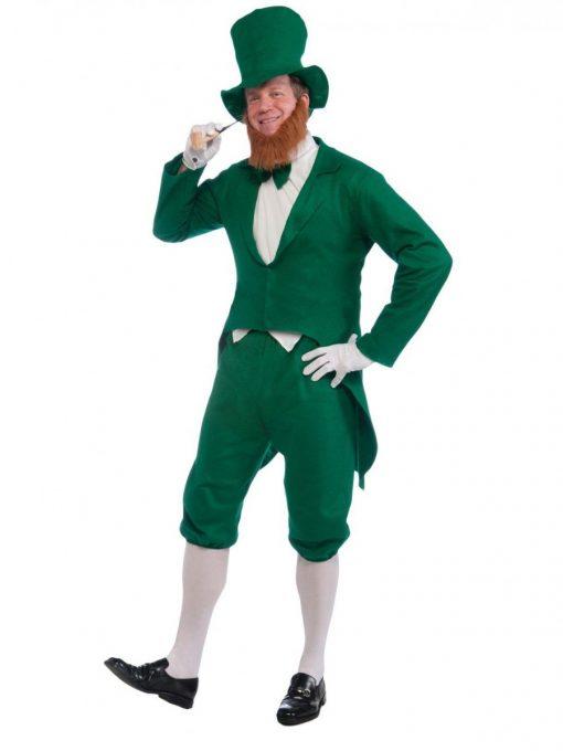 Leprechaun Costume - Adult Mens Green