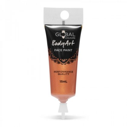 Metallic Copper - 15ml Face & Body Paint Liquid