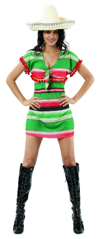 Mexican Dress - Adult - Large