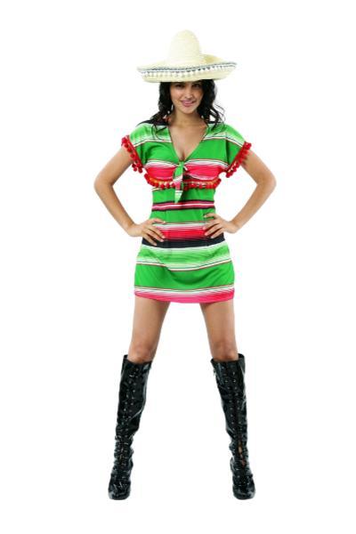 Mexcian poncho dress