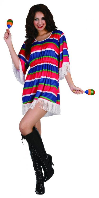 Mexican Girl - Adult - Large