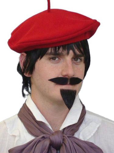 Moustache - 'Artiste' Black 2 Pce