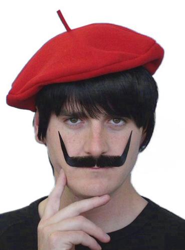 Moustache - 'Dali' Black