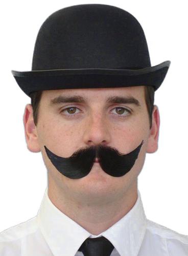 Moustache - 'Englishman' Black