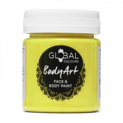 Neon Yellow - 45ml UV Face & Body Paint Liquid