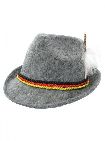 Oktoberfest German Hat with Feather