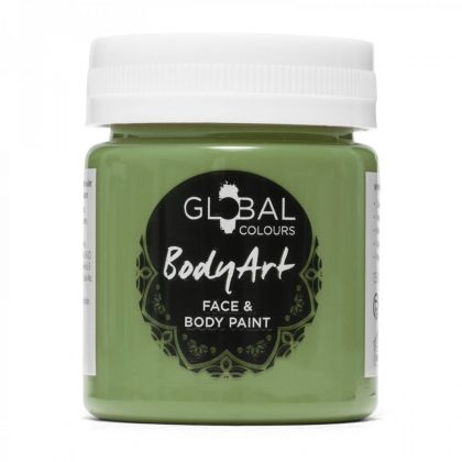 Olive Green - 45ml Face & Body Paint Liquid