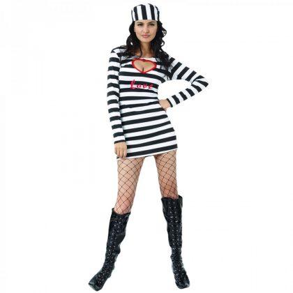 PRISONER LADY COSTUME - ADULT