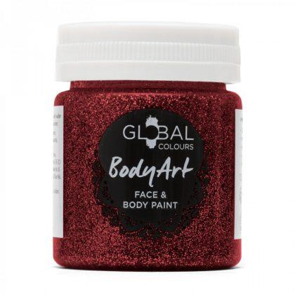 Red Glitter - 45ml Face & Body Gel