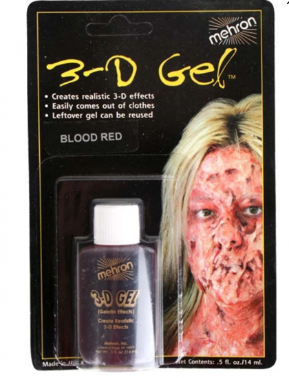 3d Gel blood Mehron